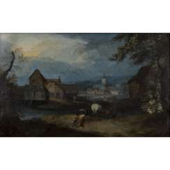 BRUEGHEL, Jan I, ATTRIBUTED to/CIRCLE (J. B.: Brussels 1568-1625 Antwerp),