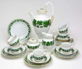 Meissen Coffee Service *Vine Leaves*