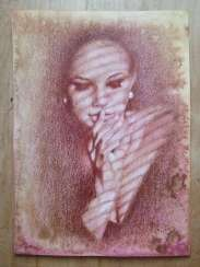 Glare. Drawing, handwork, 2020 Author - Pisareva Natalia