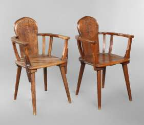 Pair Of Armchairs Studentika