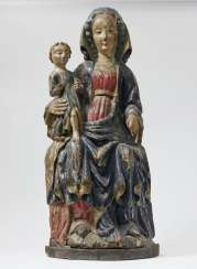 Maria Enthroned with Child Switzerland, early 15th century