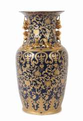 Floor vase in the Chinese style porcelain