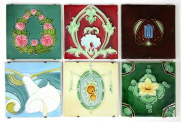 Art Nouveau Tile Collection