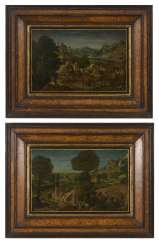 Two small baroque landscapes