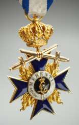 Bavaria: Military Merit Order, 3. Class with crown and swords.