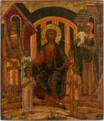 RARE ICON WITH CHRIST