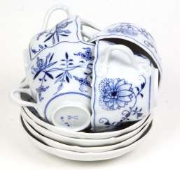 Meissen 4 Coffee *Cutlery Onion Pattern*