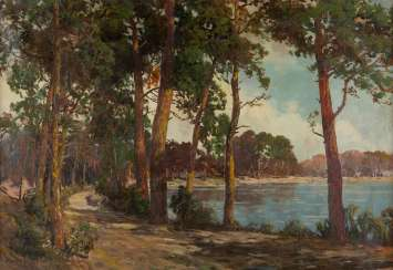North German landscape painter, Active 1. Half of the 20. Century