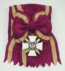Italy: Order of the Roman Eagle, 1st model (1942-1943), Grand Cross Gem, with swords.