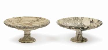 A Couple of large bowls. Italy, 19. Century