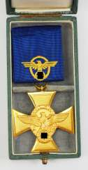 Police-Long Service Decoration, 1. Level, for 25 years,