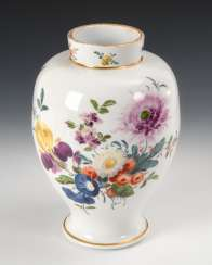 Vase with flowers painting.