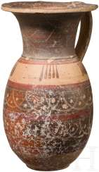 Etrusko-Corinthian jug, late 7. - early 6. Century before Christ