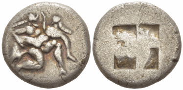 ANCIENT GREECE THASOS DRACHM