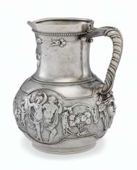 AN AMERICAN SILVER PITCHER