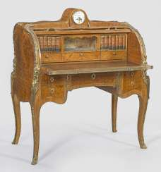 Signed Louis XV Cylinder Desk by Henry Dasson