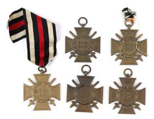 5 front fighters honor crosses