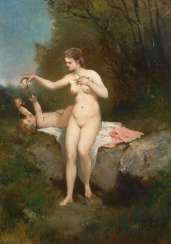 French Painter 19. Century: act with Kn