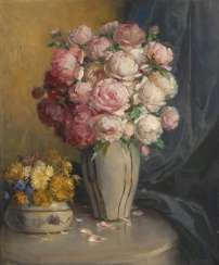 KOSCHEWA, G: still life with roses