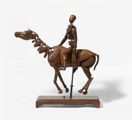 Movement model of a horse with a rider