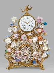 Ornate Louis XV clock with figures