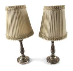 PAIR OF CANDLESTICKS AS A TABLE