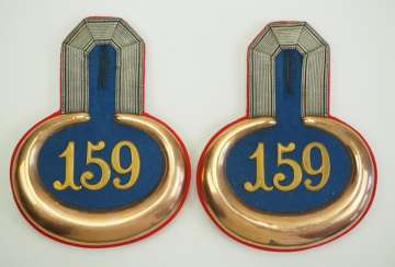 Prussia: Infantry Regiment 159, pair of epaulettes for a lieutenant.