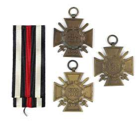 3 front fighters honor crosses