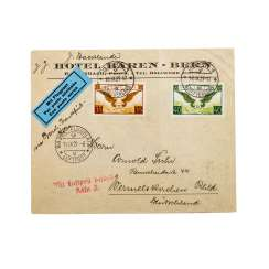 Switzerland - 1929, Lupo letter to Germany,