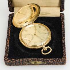 Gold Art Deco Jump Cover Watch Case