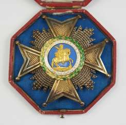 Spain: Royal and Military order of St. Hermenegildo, 1. (1814-1871 / 1875-1931), Grand cross breast star, in a case.