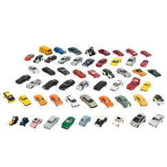 WIKING / HERPA, among other things, a lot of approx. 55 model vehicles in the scale 1:87,
