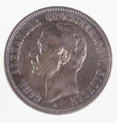 2 Mark Grand Duke of Saxony 1898A