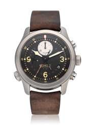 BREMONT, P-51, GMT CHRONOGRAPH, LIMITED EDITION NO. 016 OF 251