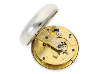 Pocket watch: extremely heavy, high-fine English Pocket chronometers