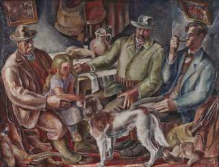 The Chaisseurs. 1925