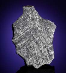 GIBEON METEORITE — END PIECE