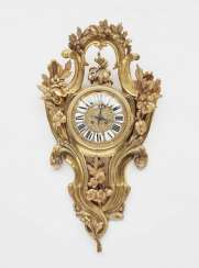 Cartel clock. Paris, 2. Half of the 19th century. Century, Philippe Fabt.