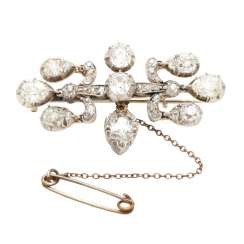 Diamond brooch, probably from the family of Johann Elert Bode