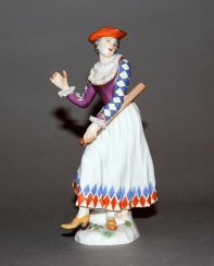 Meissen, Germany, 1974 is the year,model 1743