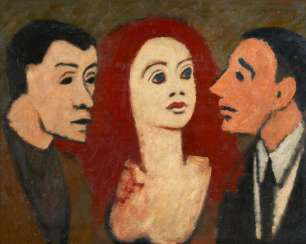 Scheele, Kurt (1905 Frankfurt/Main - 1944 Smolensk). Three Heads