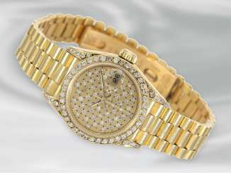 Watch: vintage Rolex ladies watch in 18K yellow Gold, Rolex Lady Datejust, 1985/ ' 86 Vintage, Ref. 69178