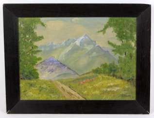 Early summer in the mountains - Barth, H.