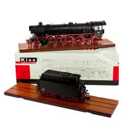 KISS steam locomotive with Tender 230130, track 1