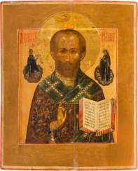ICON WITH ST. NICHOLAS OF MYRA