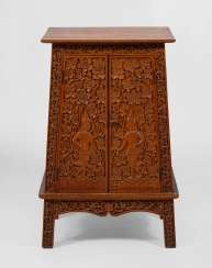 Half-Romanesque Relief Cabinet with Asia.