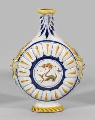 Miniature Pilgrim flask in the Renaissance style