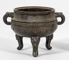 Bronze incense burner from the Ming dynasty