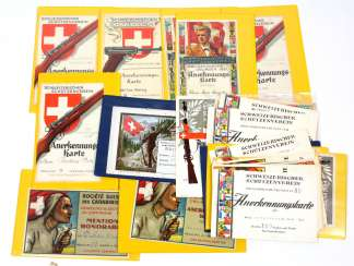 50 Cards Switzerland 1924/63 Protect