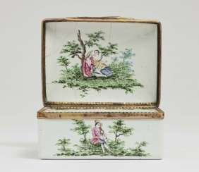 Snuff-Box, Deutsch, 3. Viertel 18. A running commentary